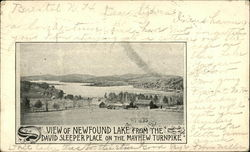View of Newfound Lake fromm the David Sleeper Place on the Mayhew Turnpike