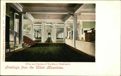 Office and Parlor of the Mt. Washington
