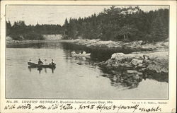 Lovers' Retreat at Bustins Island, Casco Bay