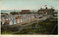 Tent City and Neptune Casino at the Sea Beach