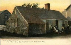 """""""Auld Lang Syne"""" - Oldest House"""