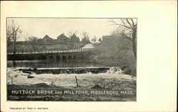 Muttock Bridge and Mill Pond