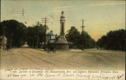 Junction of Broadway and Massachusetts Avenue, and Soldiers Monument