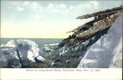 Wreck on Long Beach Rocks, Nov. 27, 1897