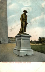 Statue of Colonel William Prescott, June 17, 1775