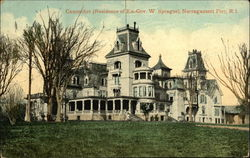 Canonchet - Residence of Ex-Governor W. Sprague