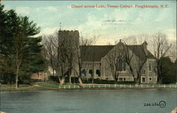 Chapel Across the Lake at Vassar College