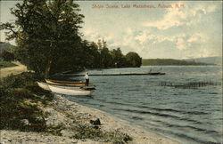 Shore Scene at Lake Massabesic