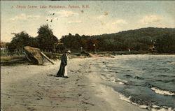 Lake Massabesic - Shore Scene
