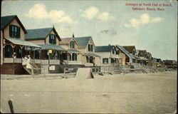 Cottages at North End of Beach