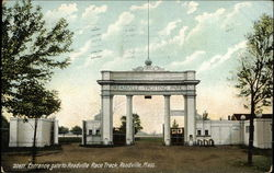 Entrance Gate to Readville Race Track