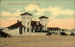 State Bath House at Lynn Beach