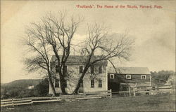"""Fruitlands,"" The Home of the Alcotts"