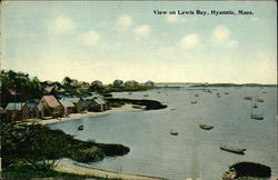 View on Lewis Bay