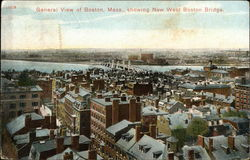 General View Showing New West Boston Bridge