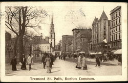 Tremont Street Path, Boston Common