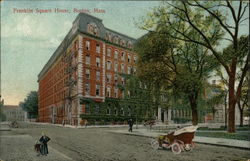 Franklin Square House Postcard