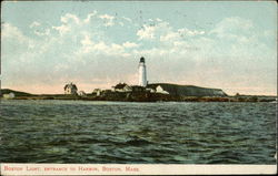 Boston Light, Entrance to Harbor