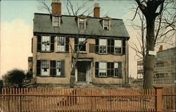 Headquarters of American Officers during the Siege of Boston