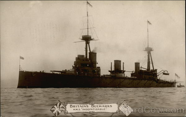 Britain's Bulwarks - HMS Indefatigable Navy