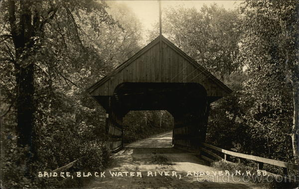 Bridge, Black Water River Andover New Hampshire