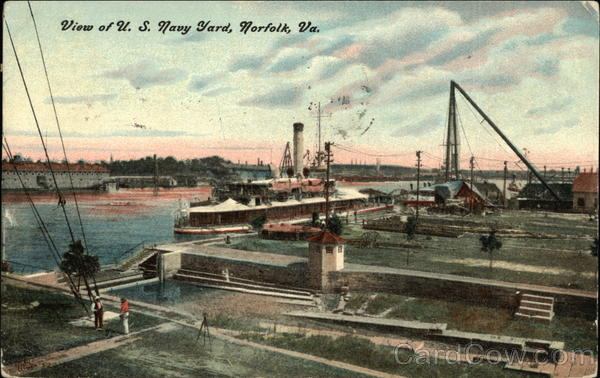 U.S. Navy Yard Norfolk Virginia