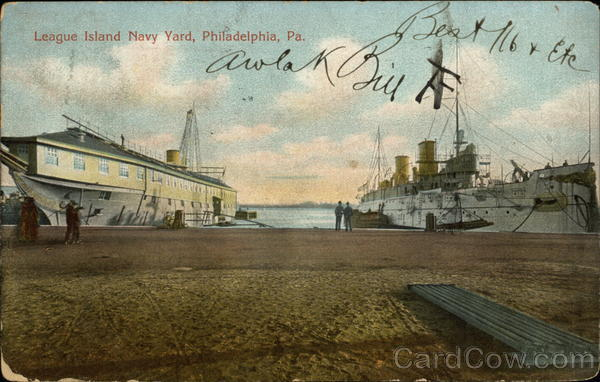 League Island Navy Yard Philadelphia Pennsylvania