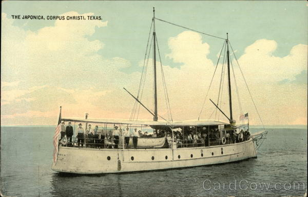 Sailing Ship - The Japonica Corpus Christi Texas