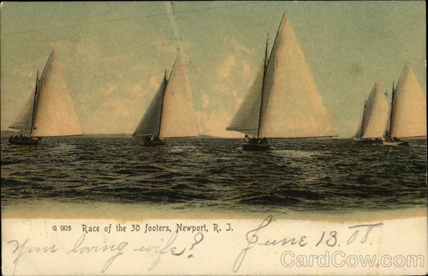 Race of the 30 Footers Newport Rhode Island
