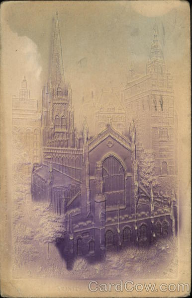 Trinity Church New York City Airbrushed
