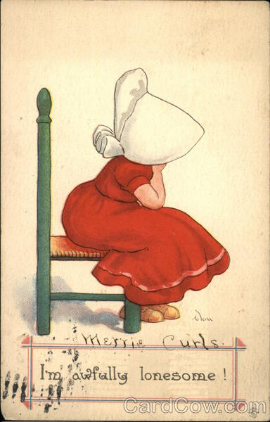 I'm Awfully Lonesome! Sunbonnet Babies