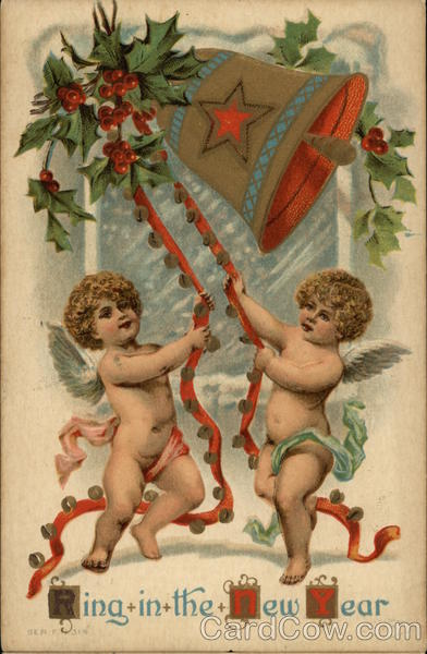 Ring in the New Year with Cherubs and Bell Angels & Cherubs