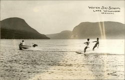 Water Ski School, Lake Willoughby, Vermont