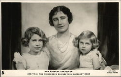 Her Majesty the Queen and T.R.H. The Princesses Elizabeth & Margaret Rose