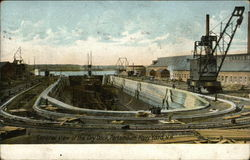 General View of Dry Dock