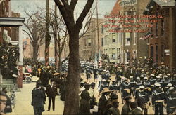 Sailors Parade at Norfolk, Va., Feb. 27, 1909, After the Return From the Trip Around the World