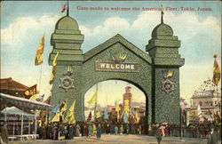 Gate Made to Welcome the American Fleet