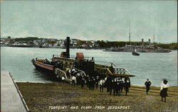 Torpoint and Ferry From Devonport
