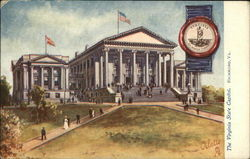 The Virginia State Capitol Postcard