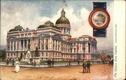 The Indiana State Capitol Postcard