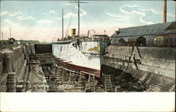 A Capture of the Spanish War in the Dry Dock