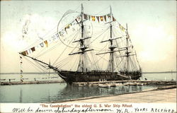 The Constellation, the Oldest U.S. War Ship Afloat