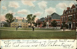 Williams College - Laboratories and Jesup Hall Postcard