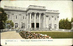 """Marble Palace"", Residence of Mrs. O.H.P. Belmont"