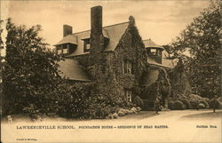 Lawrenceville School - Foundation House, Residence of Head Master
