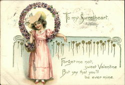 To My Sweetheart - Forget me not, Sweet Valenting