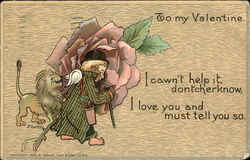 To my Valentine. I Cawn't Help it, Dontcherknow, I Love you and Must Tell you so