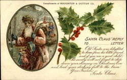 Santa Claus' Reply to ...... Letter, Compliements of Houghton & Dutton Co