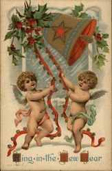 Ring in the New Year with Cherubs and Bell