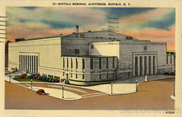 Buffalo Memorial Auditorium New York